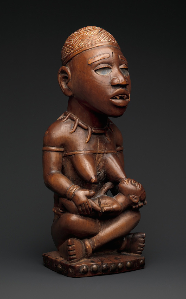The-Met-Kongo-Seated Female Nursing Child