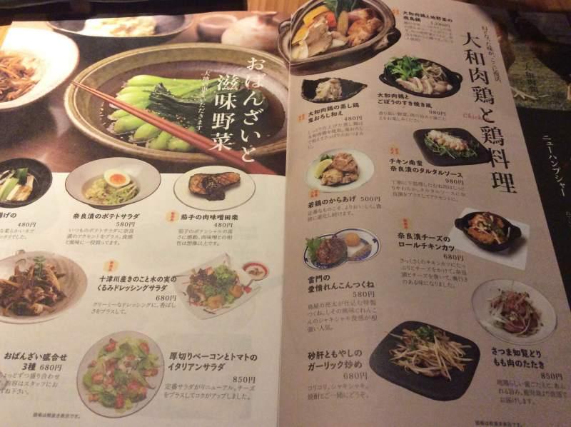 奈良で食べれるから揚げ⑦ 酒菜と大和だし茶漬け 風神 近鉄奈良駅前店 若鶏のからあげ