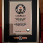 TUBE 最後の阪神甲子園ライヴ ウェーブ ギネス世界記録 挑戦 達成 2015