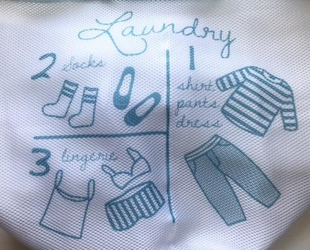 臭い靴下からの回避術!3コインズの3ポケット洗濯ネット♪