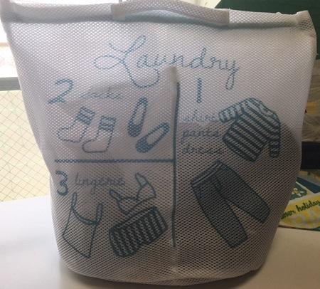 3コインズ 3ポケット 洗濯ネット ランドリーバッグ