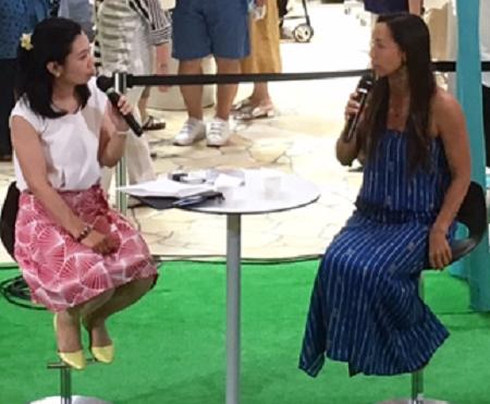 アンジェラ マキ バーノン トークショー 大阪 梅田 阪急百貨店 ハワイフェア 2017