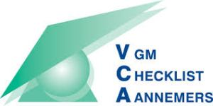 Link naar VCA pagina