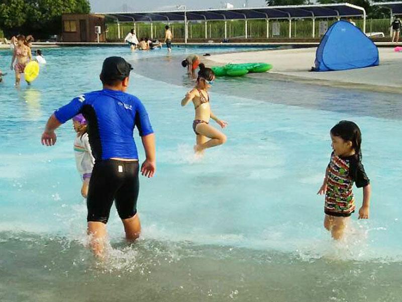 サンビーチ日光川は愛知県のハワイです
