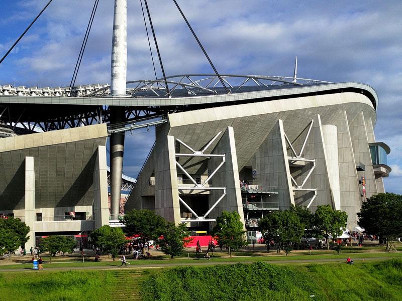 豊田スタジアムの距離感が大好きです
