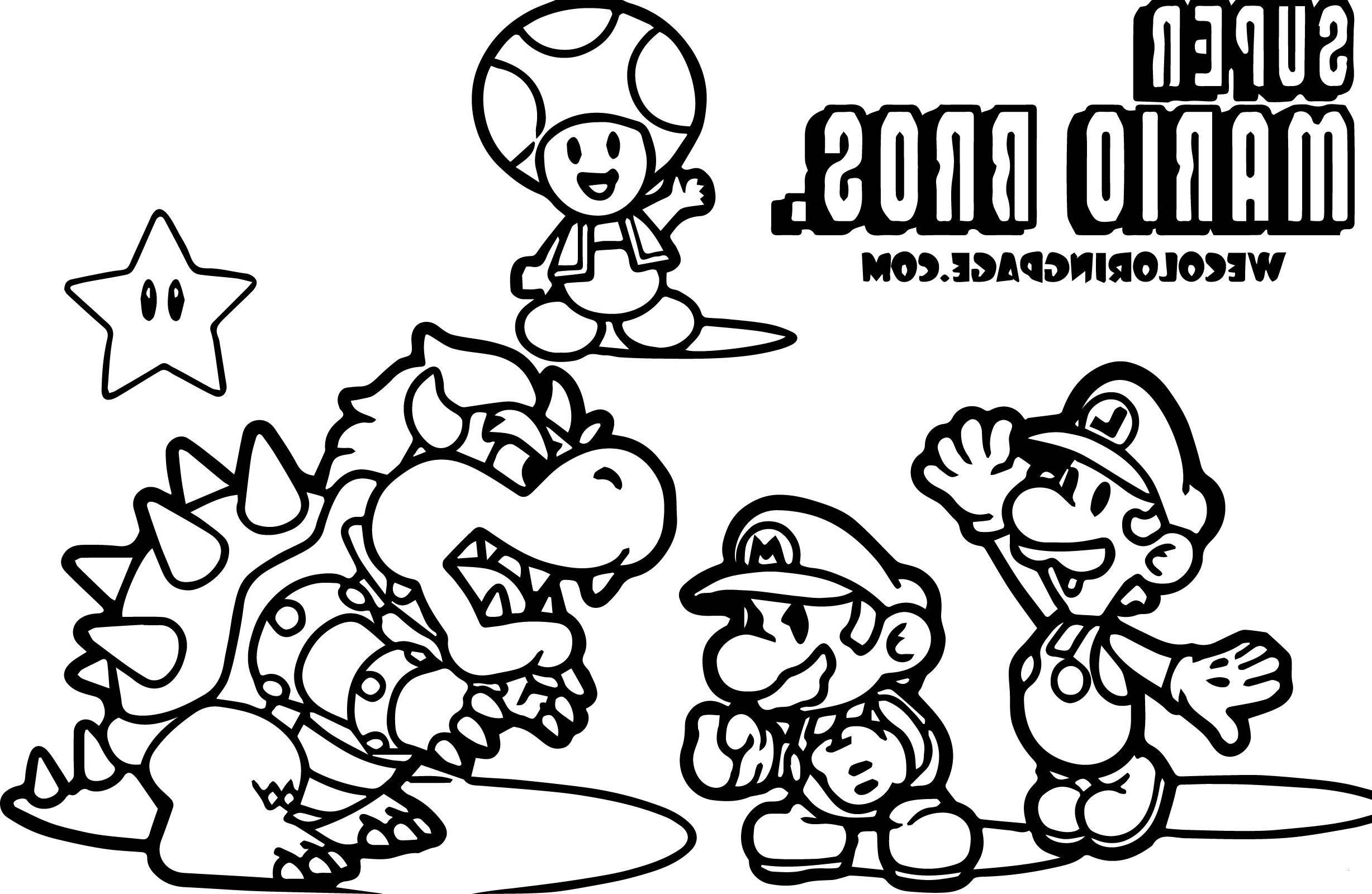 26 Ausmalbilder Super Mario 26d World - Besten Bilder von ausmalbilder