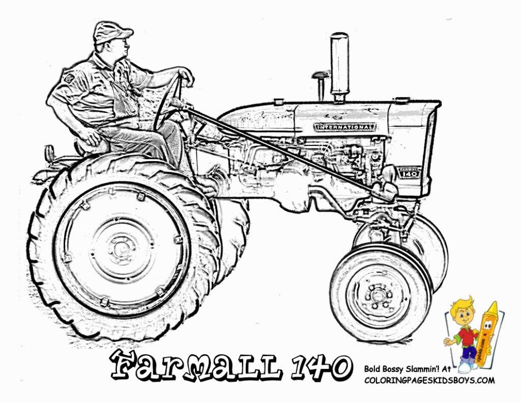 99 Frisch Ausmalbilder Traktor Fendt Stock