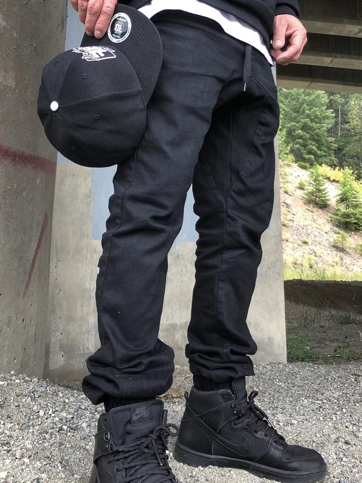 Flossy Bumz Joggers Black