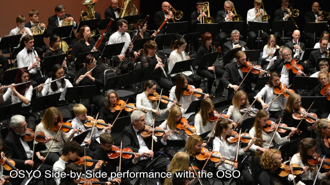 Picture of OSO OSYO side by side concert