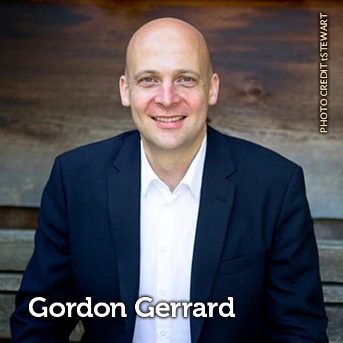 headshot of Gordon Gerrard