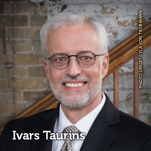 headshot of Ivars Taurins