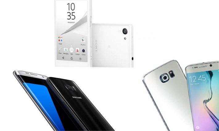 Smartphones alta gama 2016