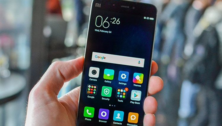 Smartphone gama baja Xiaomi Mi5