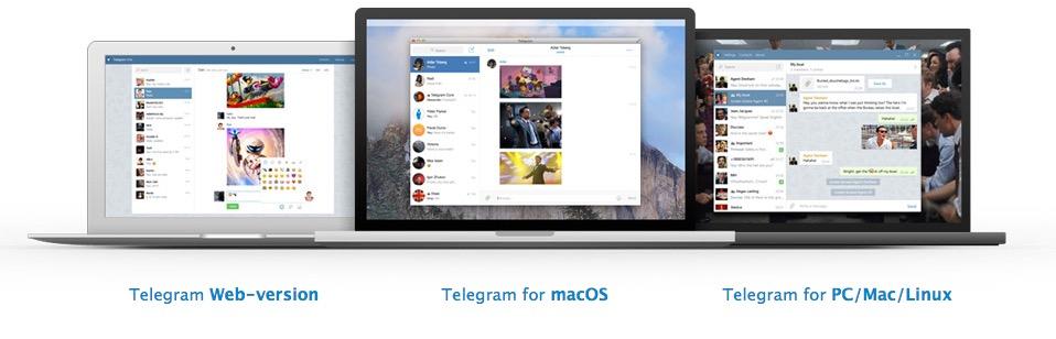Telegram versión escritorio