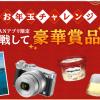 スマートフォン版Yahoo!JAPANアプリ限定くじキャンペーンをやっています!(~1/3まで)