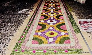 Flower Alfombra - Antigua Guatemala