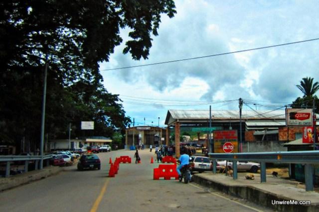 Guatemala - Belize border crossing