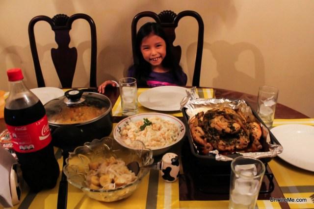 Christmas Dinner Guatemala