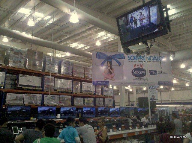 Electronic aisles