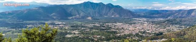 view from Cerro San Cristóbal Antigua Guatemala
