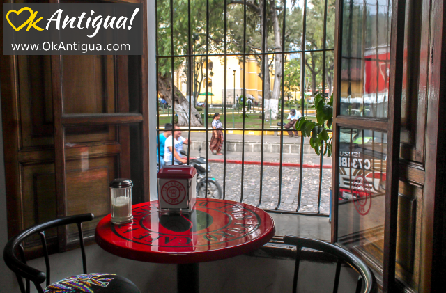 La Parada coffee shop in Antigua Guatemala