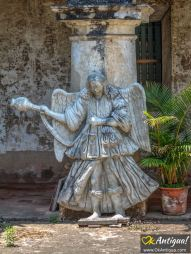 Capuchinas angel sculpture