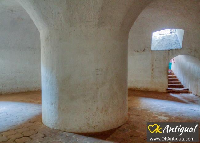 Capuchinas cistern