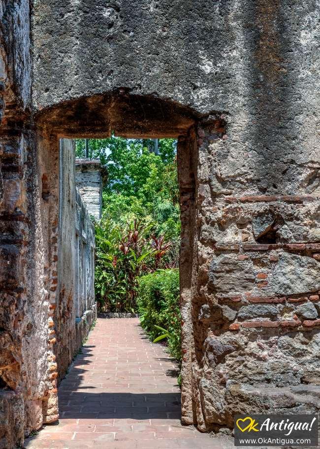 Capuchinas ruins
