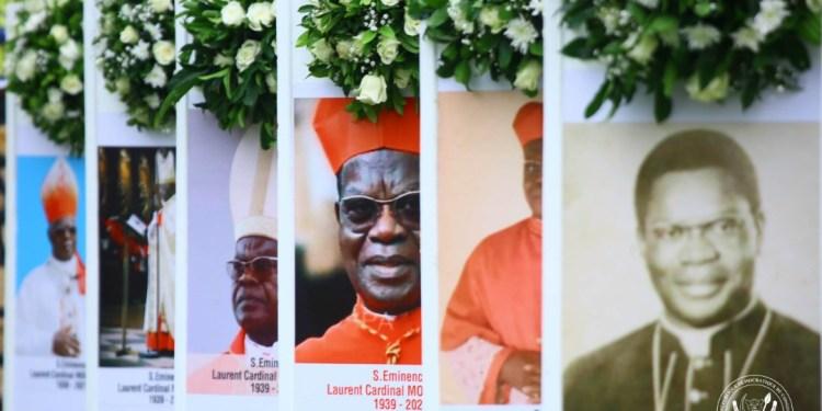 RDC : Laurent Monsengwo inhumé dans un caveau de la Cathédrale aux côtés de ses prédécesseurs !