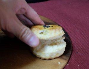 さつまいもとチーズのスコーン