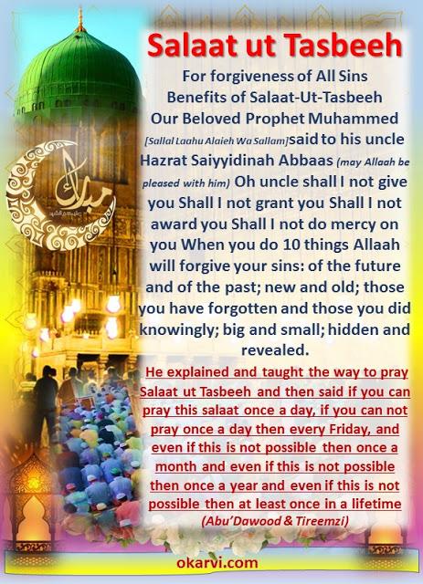 WHAT  is Salaat ut Tasbeeh?