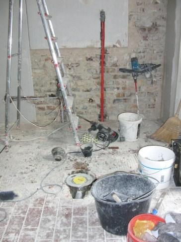 oKāsan - renovierung - mama sagt: sauber machen!