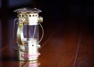 真鍮オイルランプ