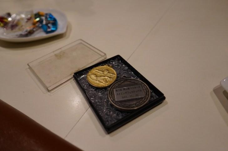 【忘れ貝】水泳のメダル