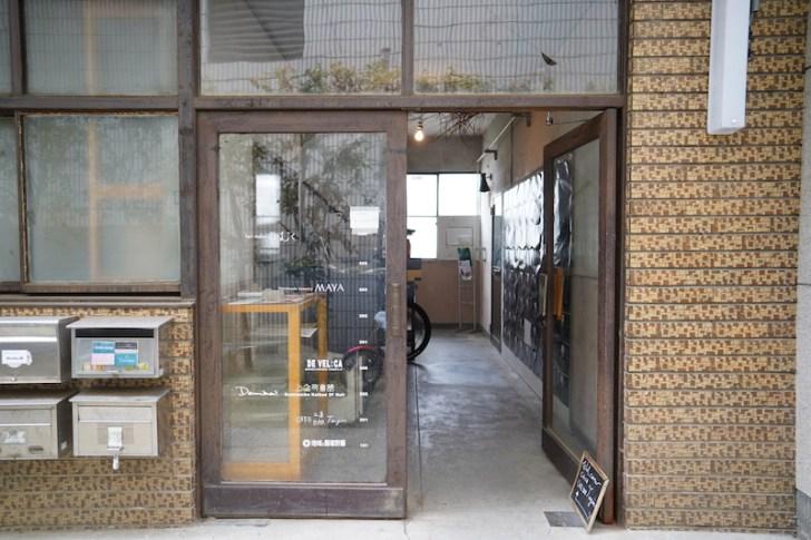 【カフェ工房Tenjin】上之町会館入口