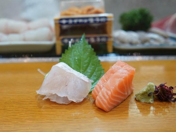 【菊寿し】鯛とサーモン