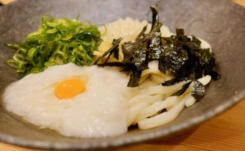 【男うどん能勢鹿田店】山芋ぶっかけ