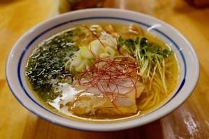 【中華蕎麦 みず川】海苔塩そば