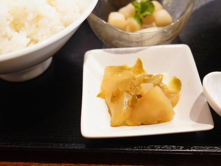 【中華料理 蔦福】ザーサイ