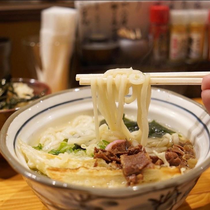 【豊前うどん いしば志】うどんの麺