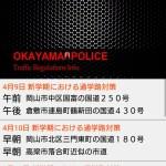 【アプリ】岡山交通取締り情報を使ってみた!