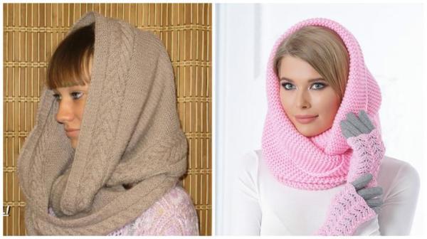 Вяжем шарф-снуд! Подробная инструкция со множеством схем и ...