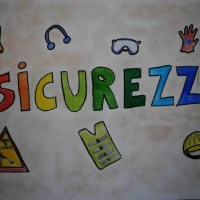 """PRIMI IN SICUREZZA: SCUOLE AL LAVORO / ECCO DISEGNI E MESSAGGI DEGLI STUDENTI DELL'ICS """"MONTINI"""" DI CASTELNUOVO GARDA (VR)"""