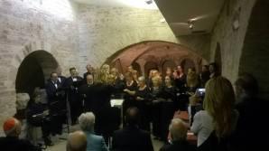 Assisi Museo S. Rufino - Presentazione Francesco 26 6 2015 (1)