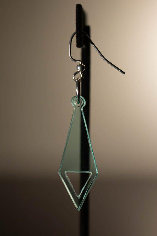 Tie Diamond Dangle Earring