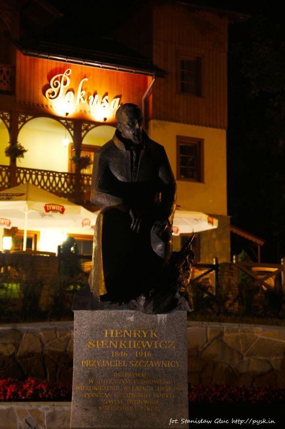 Rzeźba Henryka Sienkiewicza