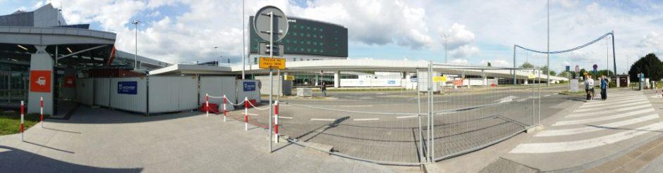 Panorama drogi do Terminala A