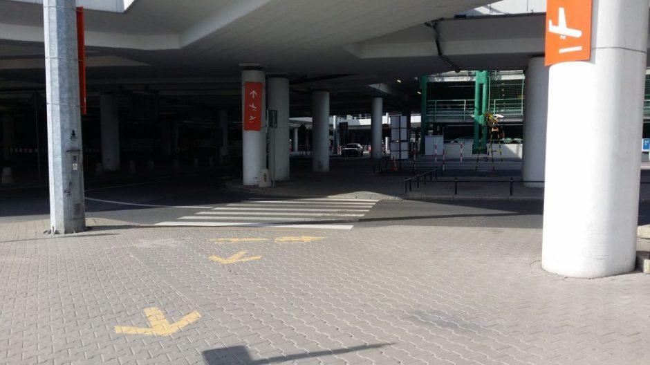 Droga do terminala A Lotnisko Chopina