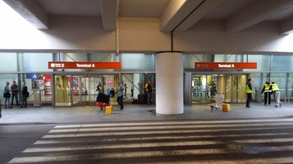 Wejście do Terminala A