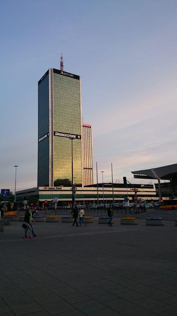 Hotel Mariott w Warszawie
